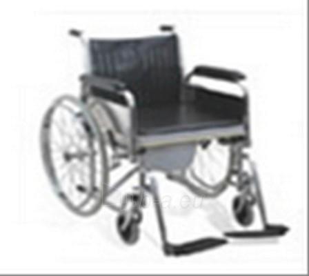 Tualetinė kėdė su varomais ratais (CA601)  Paveikslėlis 1 iš 1 250630800029
