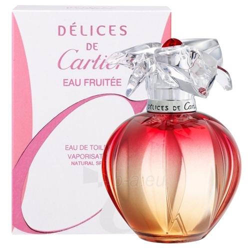 Tualetinis vanduo Cartier Delices Eau Fruitee EDT 100ml (testeris) Paveikslėlis 1 iš 1 250811001215