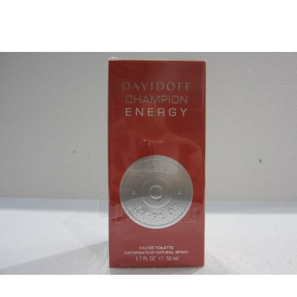 Tualetinis vanduo Davidoff Champion Energy EDT 50ml Paveikslėlis 1 iš 1 250812000274