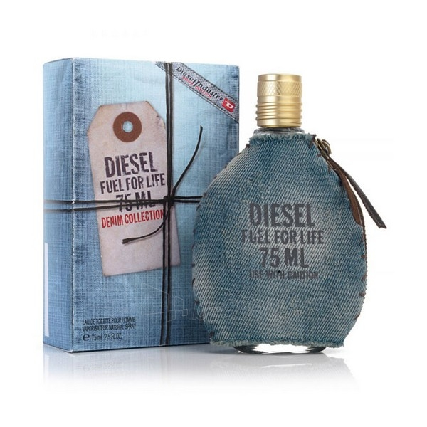 Tualetes ūdens Diesel Fuel for Life Denim Collection Homme EDT 75ml Paveikslėlis 1 iš 1 250812000288