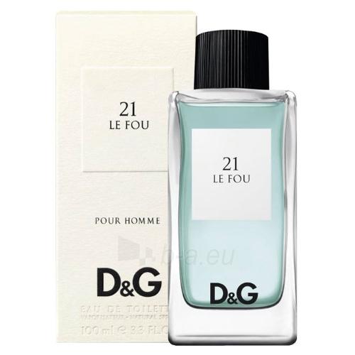 Tualetes ūdens Dolce & Gabbana Le Fou 21 EDT 100ml Paveikslėlis 1 iš 1 250812000301