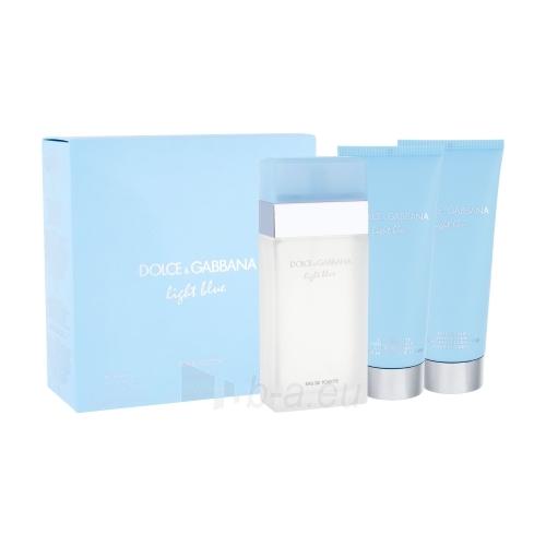 Tualetinis vanduo Dolce & Gabbana Light Blue EDT 100ml (rinkinys) Paveikslėlis 1 iš 1 250811009185