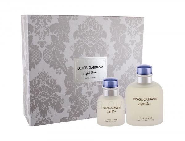 ff3b32b3 Dolce & Gabbana Light Blue Pour Homme EDT 125ml (set 2) Paveikslėlis 1 iš