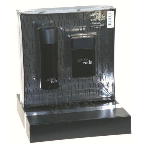 Tualetes ūdens Giorgio Armani Black Code EDT 75ml (komplekts 5) Paveikslėlis 1 iš 1 250812003781