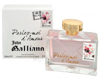 John Galliano Parlez-Moi d´Amour EDT 30ml Paveikslėlis 1 iš 1 250811006166