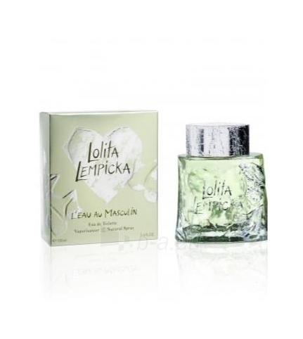 Tualetinis vanduo Lolita Lempicka L´Eau au Masculine EDT 100ml (testeris) Paveikslėlis 1 iš 1 250812002888
