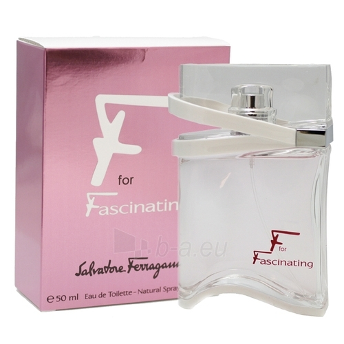 Salvatore Ferragamo F for Fascinating EDT 50 ml Paveikslėlis 1 iš 1 250811000350