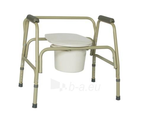 Tualeto kėdė sunkiasvoriui Paveikslėlis 1 iš 1 250630800052