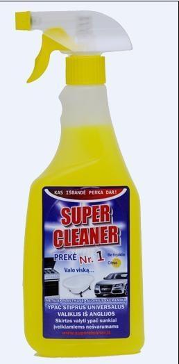 Universali riebalų šalinimo priemonė Super Cleaner 500ml Paveikslėlis 1 iš 1 251301400013