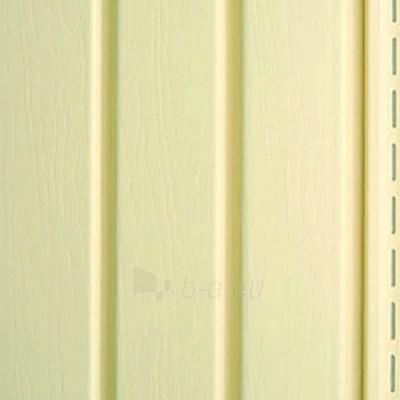 Užbaigimo profilis fasado apdailai, geltonas Paveikslėlis 2 iš 2 237714000174