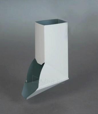 VYTROLMA stačiakampė apatinė alkūnė (pasukta) 60x80 mm cinkuota Paveikslėlis 1 iš 1 237520900179