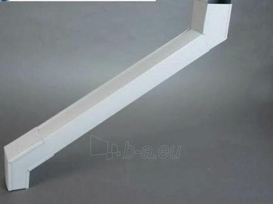 VYTROLMA stačiakampė viršutinė alkūnė 60x80mm (50 cm) cinkuota Paveikslėlis 1 iš 1 237520900173