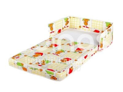 Child mattress SAPNELIS 120 x 60 x 7 cm (be apsaugos) Paveikslėlis 1 iš 1 250436000550