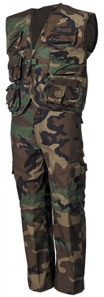 Vaikiškas kostiumas - kariška liemenė ir kelnės Paveikslėlis 1 iš 1 251510400022