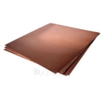 Copper sheet 1x600x1500 Paveikslėlis 1 iš 1 211020000039