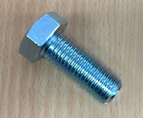 Varžtai DIN 933 8.8kl. 10x45 cin. Paveikslėlis 1 iš 1 236161500073