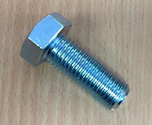 Varžtas DIN933 8,8kl. 5x30-Zn 200 vnt Paveikslėlis 1 iš 1 236161500094