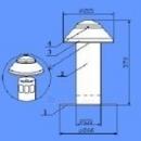 Ventiliaciniai kaminėliai D90 Paveikslėlis 1 iš 1 237150000013
