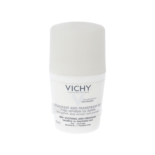 Vichy Antiperspirant Sensitive Roll-on 48h Cosmetic 50ml Paveikslėlis 1 iš 1 2508910000673