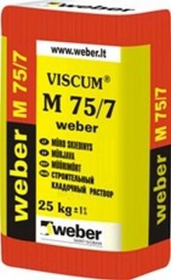 Viscum M-75 cement masonry mortar 25 kg Paveikslėlis 1 iš 1 236750000054