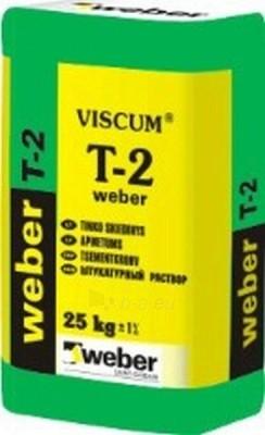 Tinkas Weber T-2 cementinis 25kg Paveikslėlis 1 iš 1 236760200027