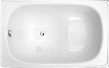Vonia plieninė Emalia 1.20x0.70 su sėdima vieta, su kojom Paveikslėlis 1 iš 1 270716000176