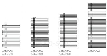 Vonios radiatorius ASTRO 60/100, baltas Paveikslėlis 1 iš 2 270651000178