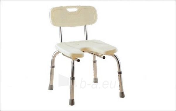 Vonios suoliukas su atrama (išpjauta sėdynė) Paveikslėlis 1 iš 1 250630800042