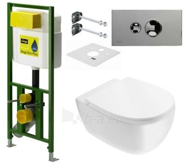 WC rėmas VIEGA ECO PLUS 3/6l. h 830mm. Paveikslėlis 1 iš 6 270790200098