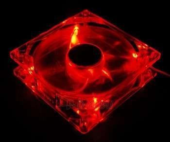 ZALMAN CASE FAN 120X120MM RED LED Paveikslėlis 1 iš 1 250255200199