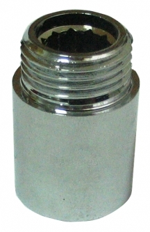 Žalvarinis chromuotas pailginimas VIEGA, d 1/2'', 20 mm Paveikslėlis 1 iš 4 270203600025