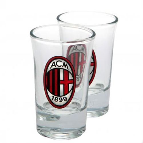 A.C. Milan dviejų stikliukų rinkinys Paveikslėlis 1 iš 4 251009000050