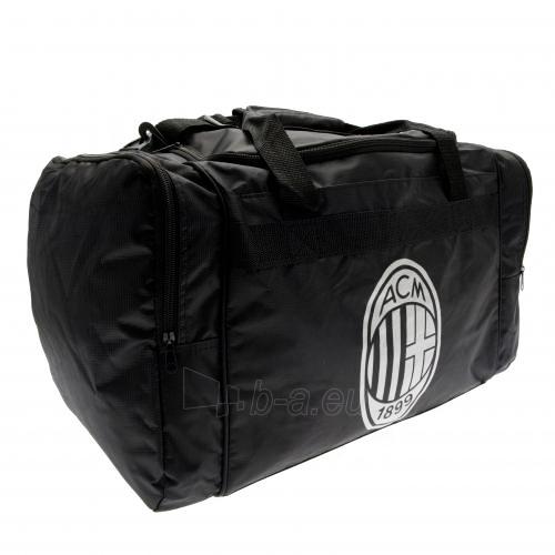 A.C. Milan kelioninis krepšys (Juodas) Paveikslėlis 1 iš 4 251009000052
