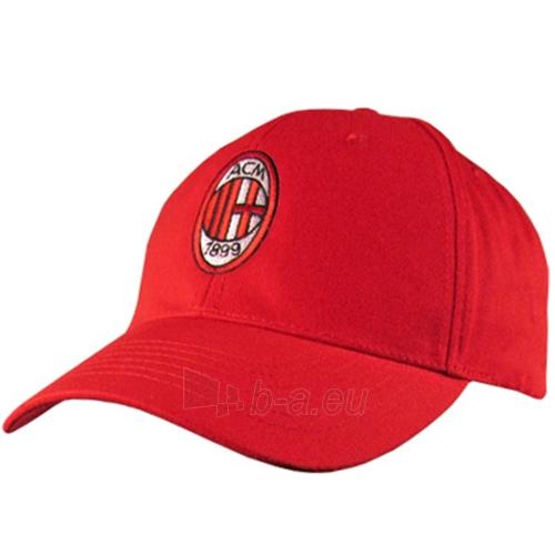 A.C. Milan kepurėlė su snapeliu (Raudona) Paveikslėlis 1 iš 3 251009000055