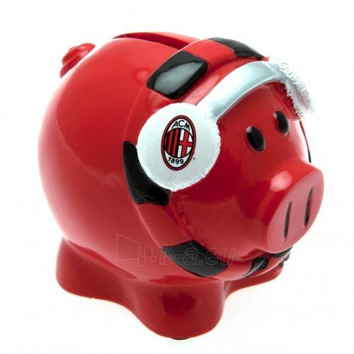 A.C. Milan kiaulė taupyklė (su šaliku) Paveikslėlis 1 iš 3 251009000056