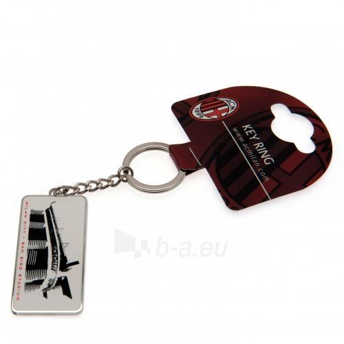 A.C. Milan raktų pakabukas (Stadiono adresas) Paveikslėlis 4 iš 4 251009000072