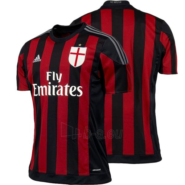 A.C. Milan rungtynių marškinėliai oficialūs Adidas (2014-2015) Paveikslėlis 1 iš 7 251009001049