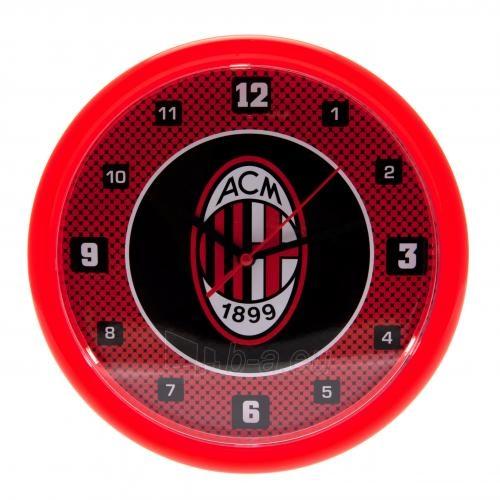 A.C. Milan sieninis laikrodis (Raudonas) Paveikslėlis 1 iš 4 251009000082