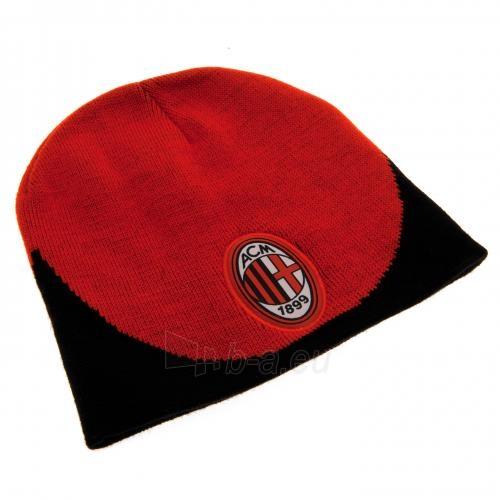 A.C. Milan žieminė kepurė (Raudona su juoda) Paveikslėlis 2 iš 3 251009000087