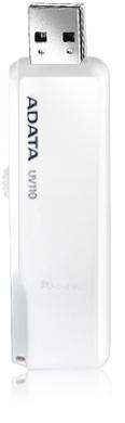 A-DATA DashDrive UV110 32GB White USB Flash Drive, Retail Paveikslėlis 1 iš 1 250255120698