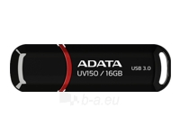 A-DATA DashDrive UV150 16GB Black USB 3.0 Flash Drive, Retail Paveikslėlis 1 iš 1 250255121025