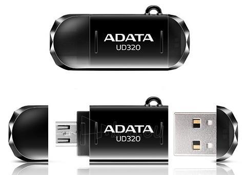 A-DATA UD320 32GB Black USB 2.0 Flash Drive Paveikslėlis 1 iš 1 250255122449