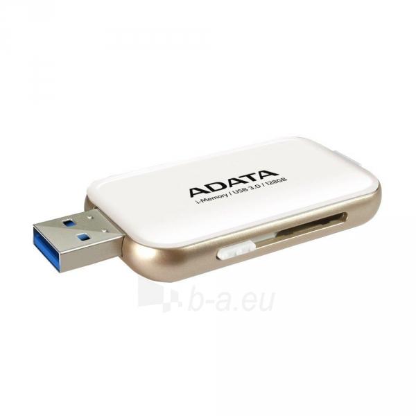 A-DATA UE710 64GB USB3.0 White Paveikslėlis 1 iš 1 310820004308