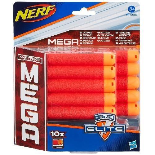 A4368 NERF N-STRIKE ELITE Komplektas iš 10 šovinių Nerf Paveikslėlis 1 iš 2 250710800870