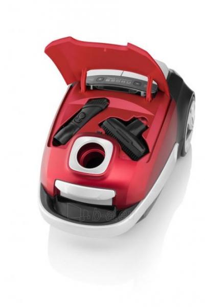 AAAA klasių dulkių siurblys su maišeliais ETA151190000 ADAGIO Animal, raudonas Paveikslėlis 4 iš 7 310820188798