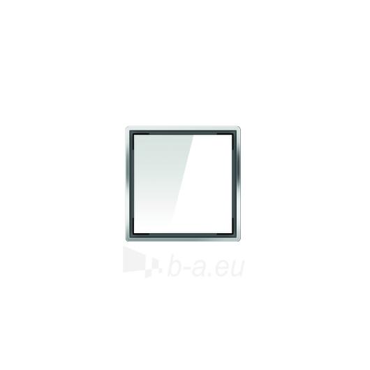 Aco kvadratinės stiklo grotelės, baltos Paveikslėlis 1 iš 1 270790000041