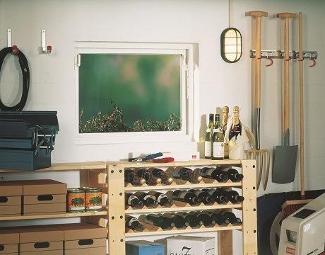 ACO plastic window utility rooms 1000x1000 mm. single glass Paveikslėlis 2 iš 3 310820038260