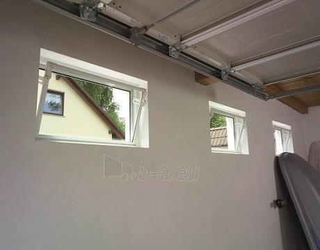 ACO plastikinis langas pagalbinėms patalpoms 800x500 mm. viengubu stiklu Paveikslėlis 3 iš 3 310820038253