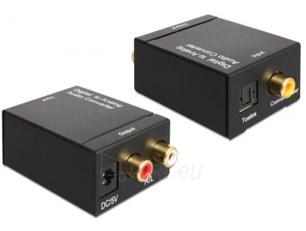 Adapteris Delock Audio Converter Digital > Analogue Paveikslėlis 1 iš 3 250255081587