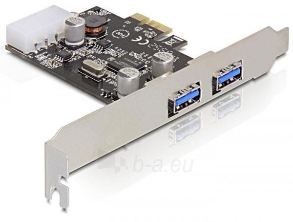 Adapteris Delock card pci express -> 2x USB 3.0 Paveikslėlis 2 iš 4 250255081588